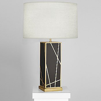 Oyster shade / Deep Patina Bronze with Modern Brass finish