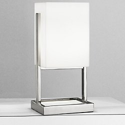 Nikole Table Lamp (Polished Nickel/13 in) - OPEN BOX RETURN