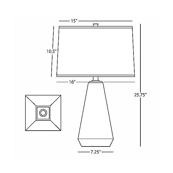 Dal Table Lamp 9872