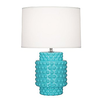 Shown in Egg Blue Glazed Textured Ceramic finish