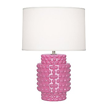 Shown in Schiaparelli Pink Glazed Textured Ceramic finish