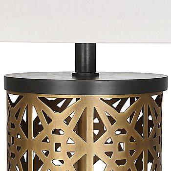 Warm Brass Finish / Detail view