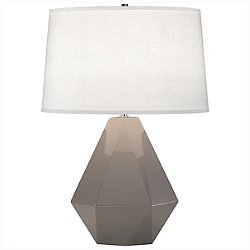 Delta Table Lamp (Smokey Taupe) - OPEN BOX RETURN