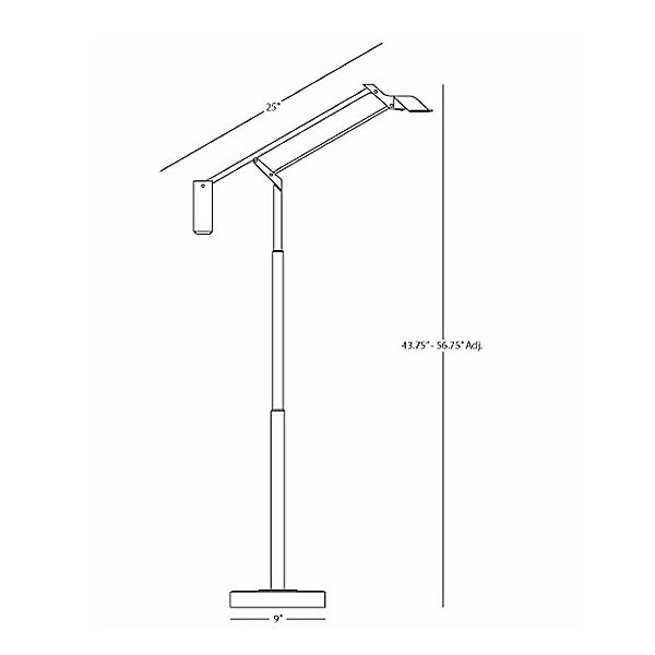 Heron LED Floor Lamp