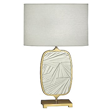 Modern Brass with Flat Lily finish