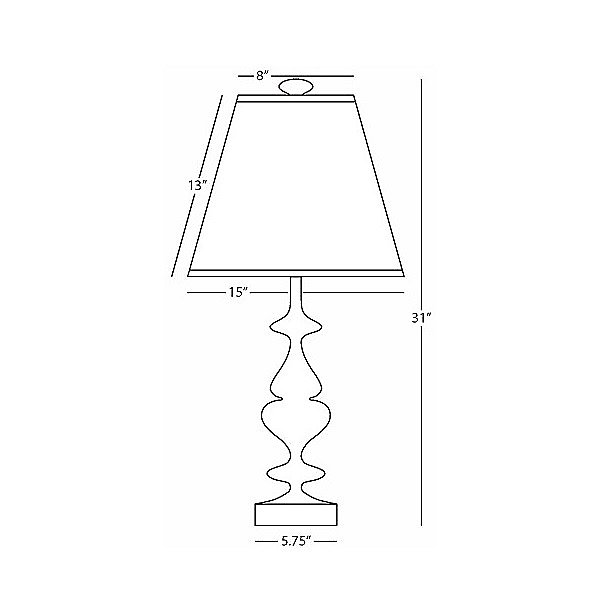 Hollywood 445 Table Lamp