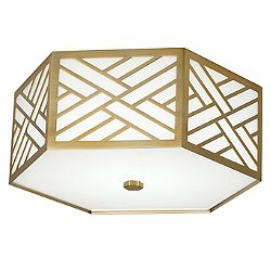 Williamsburg Tazewell Flush Mount Ceiling Light