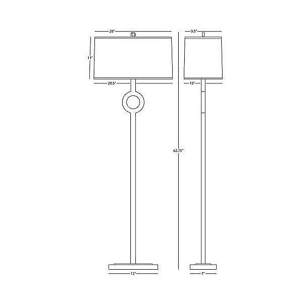 Oculus Floor Lamp