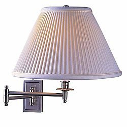 Kinetic Brass Wall Sconce (Chrome w/ Pearl White) - OPEN BOX