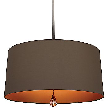 Revolutionary Storm Shade with William of Orange Interior / Polished Nickel finish