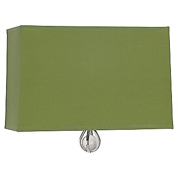 Shown inParrot Green Shade with Revolutionary Storm Interior