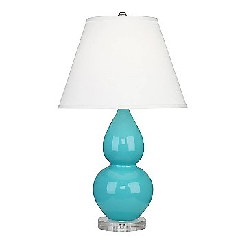 Egg Blue color / Pearl Dupioni Fabric Shade