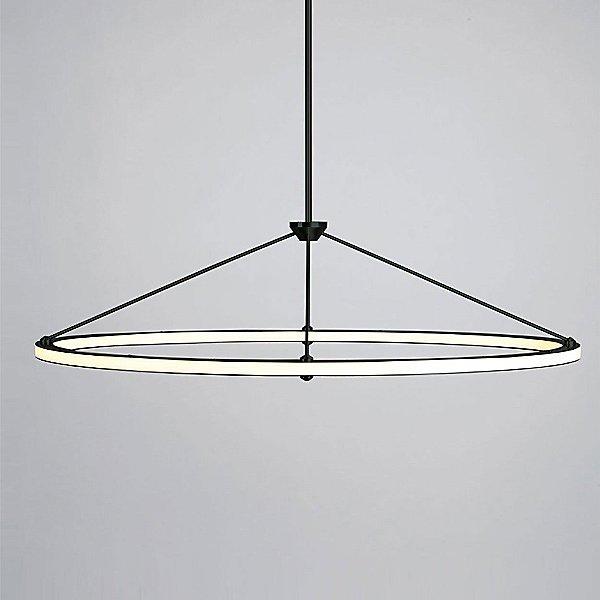 Halo Oval Pendant Light