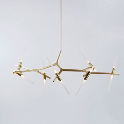 Linear Suspension Lighting Linear Pendants Chandeliers YLighting