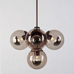 Modo Pendant Light - 5 Globes
