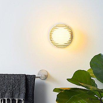White finish, illuminated