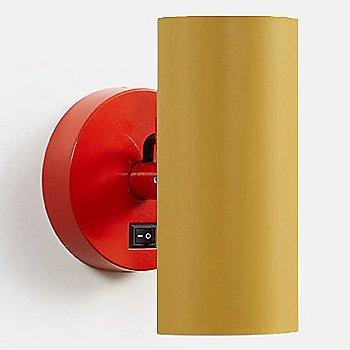 Vermillion Red body finish / Ochre Yellow Shade finish