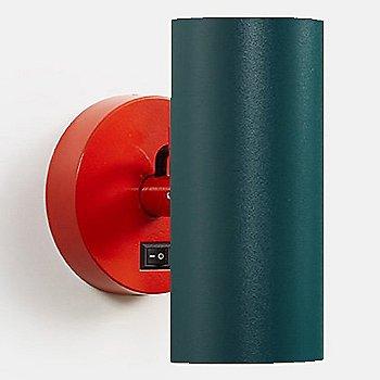 Vermillion Red body finish / Emerald Green Shade finish