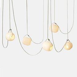 Vitis 5 LED Chandelier