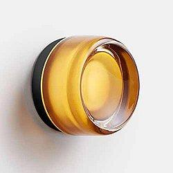 Dimple Wall/Flushmount (Amber/Black/2700) - OPEN BOX RETURN