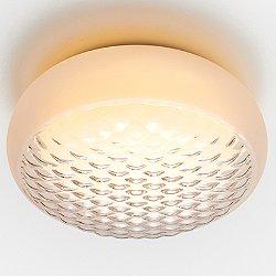 Print LED Flush Mount Ceiling Light