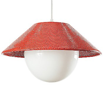 Shown unlit in Red finish