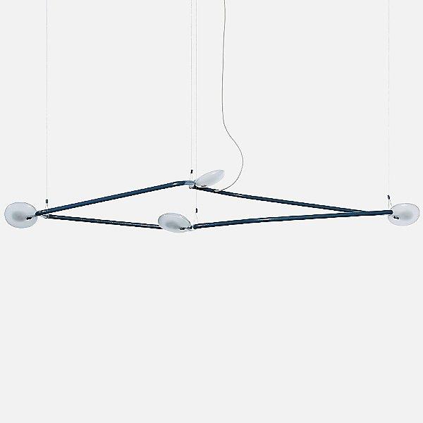 Palindrome 4 Light LED Chandelier