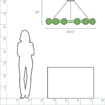 4-Feet / 12 Light option