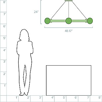 4-Feet / 6 Light option