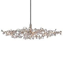 Tiara Diamond Oval HL 15 Pendant Light