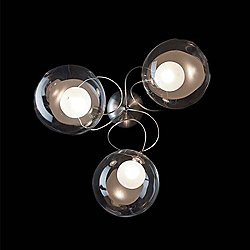 Riddle WL/PL 3 Wall / Semi-Flush Mount Ceiling Light