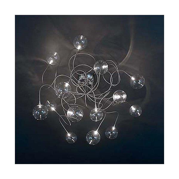 Bubbles PL 15 Semi-Flush Mount Ceiling Light