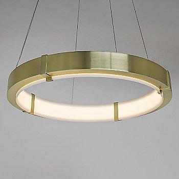 Small size / Brushed Brass finish