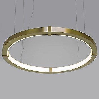 Medium size / Brushed Brass finish