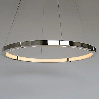 Medium size / Polished Nickel finish