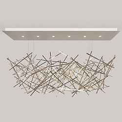 Criss Cross LED Chandelier