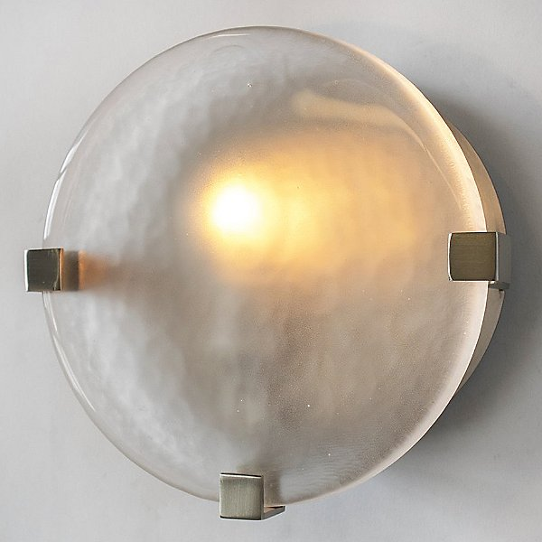 Lunette 3-Prong Round Wall Light