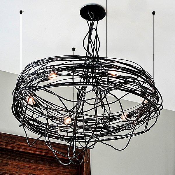 Spiral Nest Chandelier