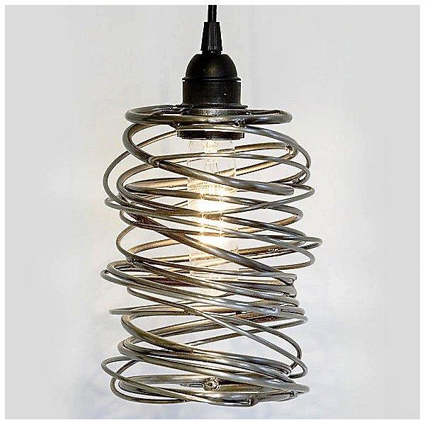 Spiral Nest Cascading 5 Light Chandelier