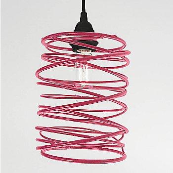 Hot Pink Powder Coated finish Black Cord Set
