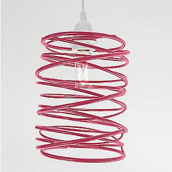 Hot Pink Powder Coated finish White Cord Set