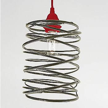 Nickel Plated finish Red Cord Set