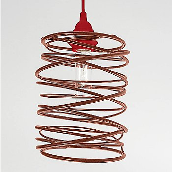 Copper Plated finish Red Cord Set