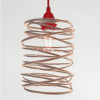 Antique Copper Plated finish Red Cord Set