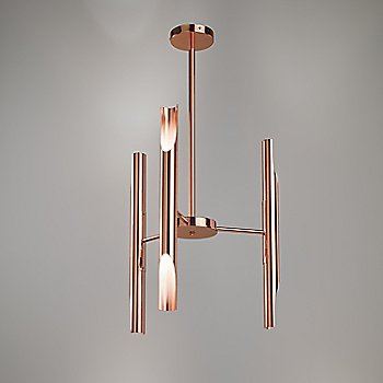 Polished Copper finish, straight configuration