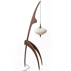 The Praying Mantis Floor Lamp