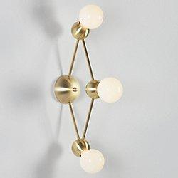 Lina 03-Light Diamond Wall Sconce