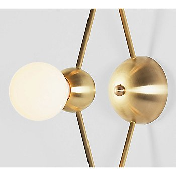 Brushed Brass finish, Detail view