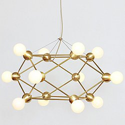 Lina 12-Light Low Chandelier