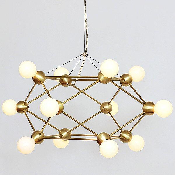 Lina 12-Light Low Chandelier
